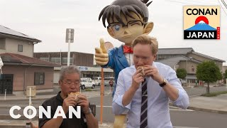 Download Conan Visits Conan Town In Japan Video