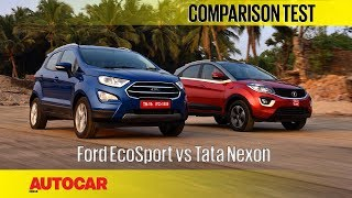 Download Ford EcoSport vs Tata Nexon | Comparison Test | Autocar India Video