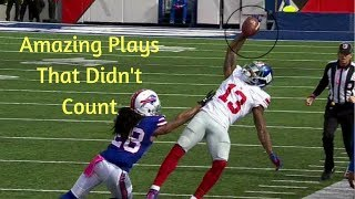 Download Amazing Plays That Didn't Count | NFL Video