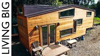 Download Exquisitely Handcrafted Eco Tiny House Video