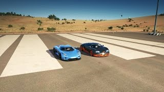 Download Koenigsegg REGERA vs Bugatti VEYRON SS Drag Race | Forza Horizon 3 Video
