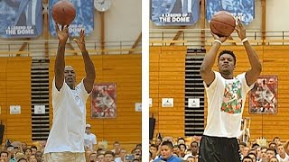 Download Michael Jordan Vs. Jimmy Butler Shooting Contest Video