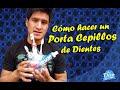 Download Accesorios de Baño - Manualidades con Reciclaje - Portacepillos de dientes Casero Video