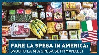 Download LA MIA SPESA DA ITALIANA IN AMERICA! Dove e cosa compro per la settimana? Video