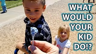 Download Child Predator Social Experiment: Would YOUR KID Take Candy From a Stranger? Video