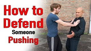 Download How to defend someone pushing you Video