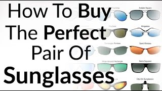 Download Perfect Sunglasses For Face Shape | How To Buy Right Shades | Aviator Wayfarer Sun Glass Styles Video