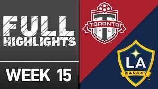Download HIGHLIGHTS: Toronto FC vs. LA Galaxy | June 18, 2016 Video