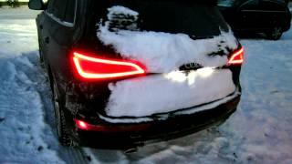 Download Audi Q5/Q7 V6 TDI clean diesel -10°F/-23°C winter cold start - no block heating... Video