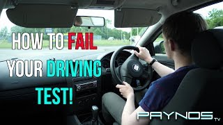 Download How To FAIL Your Driving Test Video