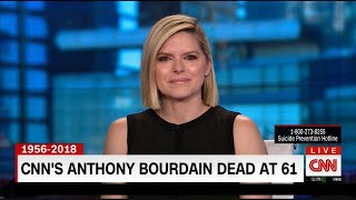 Download CNN Colleagues Tear Up on Air as They Report Anthony Bourdain's Death Video