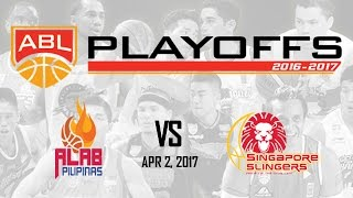 Download Alab Pilipinas vs. Singapore Slingers | ABL Livestream - Apr 2, 2017 Video