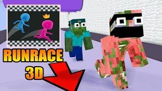 Download Monster School : RUNRACE 3D CHALLENGE - Minecraft Animation Video