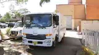 Download Machine guns and handguns allegedly found hidden in a trailer in Sydney Video
