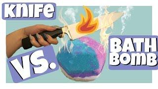 Download 1000 Degree Knife VS LUSH BATH BOMB!!! Video