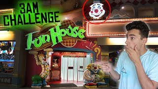 Download DO NOT VISIT A FUN HOUSE AT 3 AM // SCARY 3AM CHALLENGE IN HAUNTED FUN HOUSE! Video