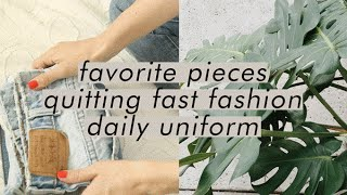 Download Capsule Wardrobe Q & A: uniform dressing, favorite pieces, and timeline for quitting fast fashion Video