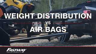 Download The Difference Between Using Weight Distribution and Air Bags to Level Your Load Video