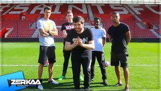 Download CROSSBAR CHALLENGE WITH RYAN BERTRAND AND JOSÉ FONTE Video