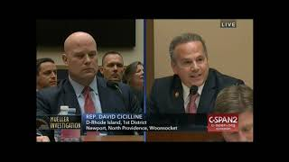 Download Rep. Cicilline does not have time for AG Whitaker's evasions Video