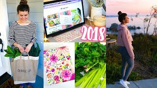 Download Start a Healthy Lifestyle in 2018! Fitness Tips + Recipes! Video