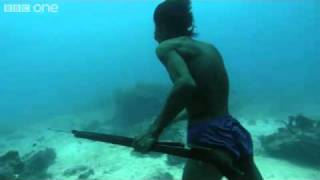 Download Underwater Hunter Goes Deep Sea Fishing Without Air! Video