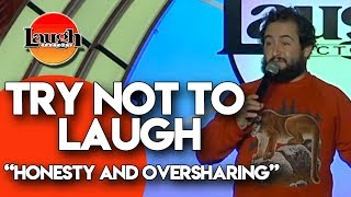Download Try Not to Laugh | Honesty and Oversharing | Laugh Factory Stand Up Comedy Video