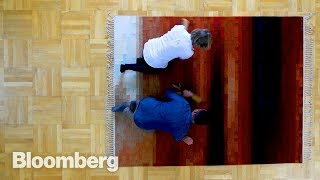 Download How a $40,000 Swedish Carpet Is Made Video