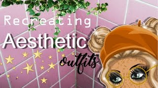 Download RECREATING AESTHETIC OUTFITS ON MSP! Video
