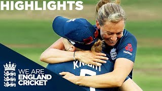 Download Devine Earns Consolation Win as England Take Series | England Women v New Zealand 2018 - Highlights Video