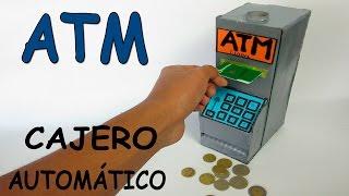 Download Como Hacer Un Cajero Automático Casero De Cartón-Banco Para Niños ATM Juguete Máquina Video