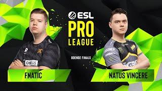 Download CS:GO - Fnatic vs. Natus Vincere [Inferno] Map 1 - Semifinals - ESL Pro League Season 10 Finals Video