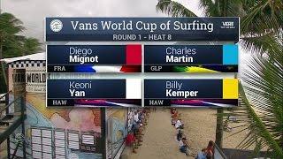 Download 2016 Vans World Cup: Round One, Heat 8 Video