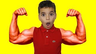 Download adel and sami pretend play funny videos for kids Video