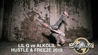 Download LIL G vs ALKOLIL | 1on1 1/4 FINAL | HUSTLE & FREEZE 2016 Video