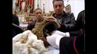 Download Ricognizione reliquie San Giovanni Therestis e San Vito 15 aprile 2012 Video