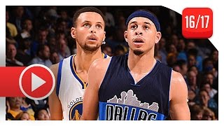 Download Stephen Curry vs Seth Curry BROTHERS Duel Highlights (2016.11.09) Warriors vs Mavericks - SICK! Video