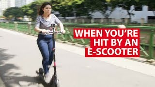 Download When You're Hit By An E-Scooter: The Physics Behind It   Talking Point   CNA Insider Video