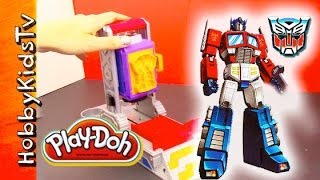Download PLAY DOH Transformers Molding Play Set Review by HobbyKidsTV Video