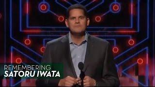 Download Nintendo's Reggie Fils-Aime Remembers Satoru Iwata - The Game Awards 2015 Video