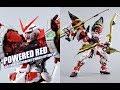 Download 【评头论足】BANDAI 万代 MB 红色异端 POWERED RED 大猩猩手臂+150菊一文字 限定武器配件包Gundam Astray Red Frame GUNPLA REVIEW Video
