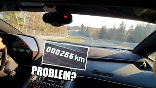 Download Brand New Lamborghini Aventador SVJ breaking in on the Nürburgring Video