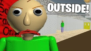 Download A SECRET WAY OUTSIDE OF THE MAP! | Baldis ANTI Basics in Education and Learning (NEW) Video