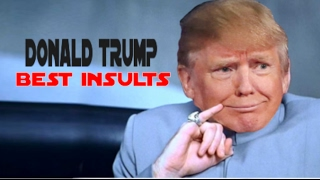 Download DONALD TRUMP'S MOST SAVAGE MOMENTS COMPILATION (Best Insults) Video