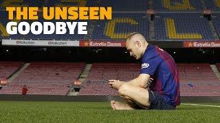 Download [BEHIND THE SCENES] Andrés Iniesta's last week at Barça Video