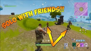 Download HOW TO GET INTO A SOLO GAME WITH YOUR FRIENDS! - Fortnite Battle Royale Video
