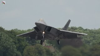 Download F-22 Raptor Display At Fairford 2016 - AIRSHOW WORLD Video