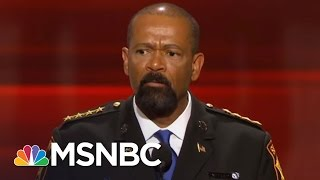 Download Sheriff David Clarke Allegedly Wears Fake Medals, Plagiarized Thesis | AM Joy | MSNBC Video