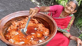 Download Spicy Mutton Pickle by granny in Andhra style || Myna Street Food Video