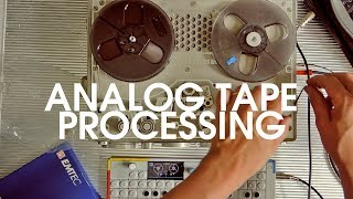Download Tape Techniques #4: Processing Ambient Tracks With A Nagra Video